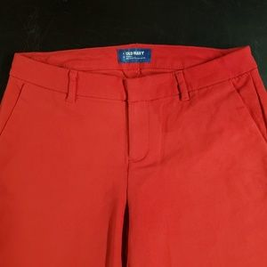 Old Navy Harper Mid Rise Taille Dress Capris